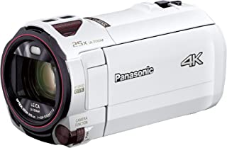 パナソニック 4K ビデオカメラ VZX992M 64GB 光学20倍ズーム ピュアホワイト HC-VZX992M-W