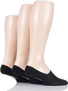 Men's 3 Pair Pringle Plain Cotton Loafer Socks