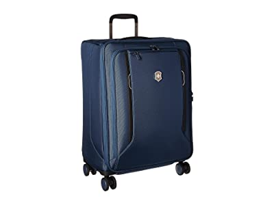 Victorinox Werks Traveler 6.0 Medium Softside Case (Blue) Luggage