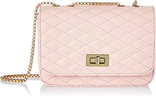 Envias Leatherette Side Sling Bags For Women's Ladies (Pink_EVS-123)