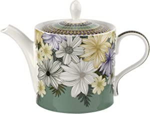 Portmeirion Home & Gifts AT00606 Teapot 2pt, Earthenware
