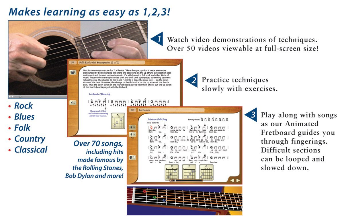 eMedia Teach Yourself Pack de guitarra clásica (nylon-string): Amazon.es: Instrumentos musicales