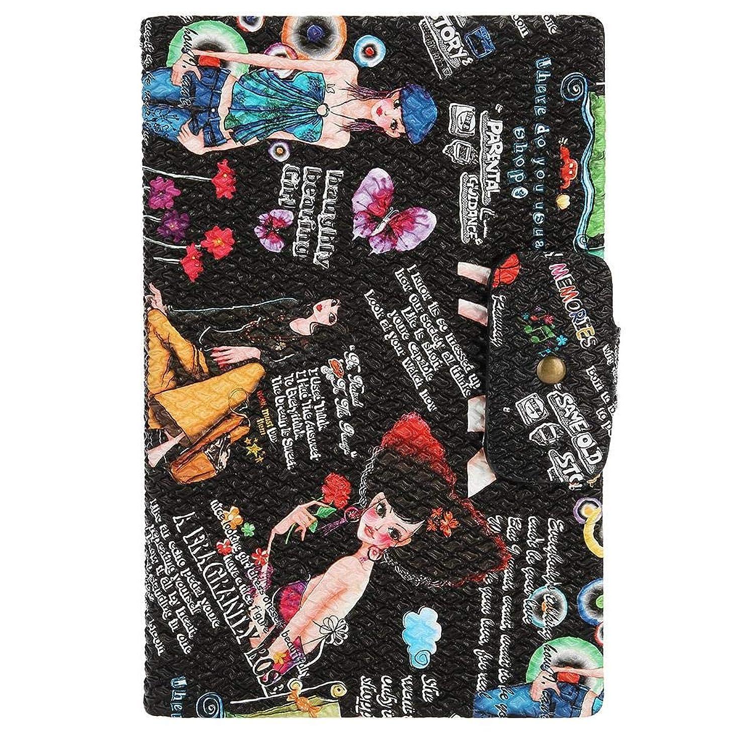 ディレクトリきょうだい評判ネイルアートディスプレイスタンド 160色表示 プラスチック板 ネイルポリッシュカラー ディスプレイ サロン アクセサリー(02)