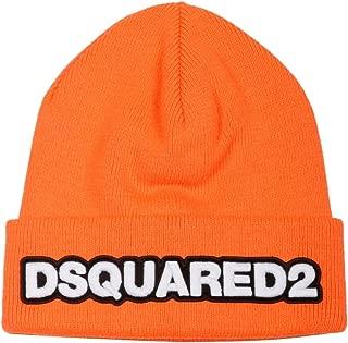 DSQUARED2 Luxury Fashion Mens KNM000105M022656047 Orange Hat | Fall Winter 19