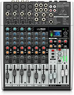 Behringer Xenyx X1204USB Premium 12-Input 2/2-Bus Mixer with USB/Audio Interface