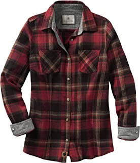 Women's Cottage Escape Long Sleeve Button Up Flannel Shirt
