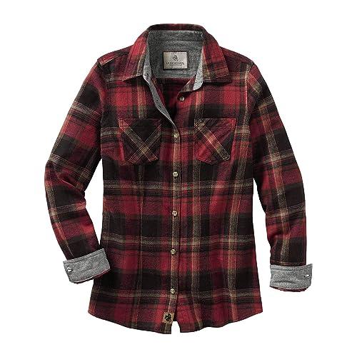 d4a37d68 Legendary Whitetails Women's Cottage Escape Long Sleeve Button Up Flannel  Shirt