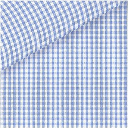SÖKTAS Leeds - Tela para Camisa, diseño de Cuadros : Amazon ...