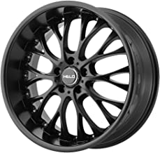 HELO HE890 Satin Black Wheel Chromium (hexavalent compounds) (20 x 8.5 inches /5 x 72 mm, 35 mm Offset)