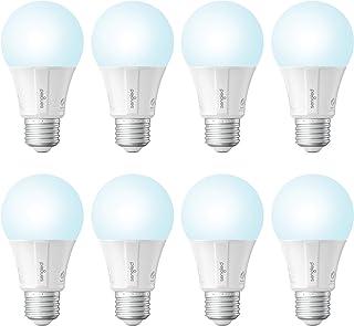 Sengled Smart LED Daylight A19 لامپ، هاب مورد نیاز، 5000K 60W معادل، با الکسا، دستیار گوگل و SmartThings، 8 بسته