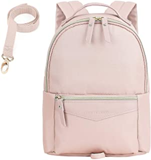 mommore Fashion Toddler Backpack for Girls Small Kids Backpack with Leash (Pink)