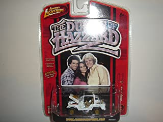 2006 Johnny Lightning The Dukes of Hazzard Jeep CJ-5 White #4