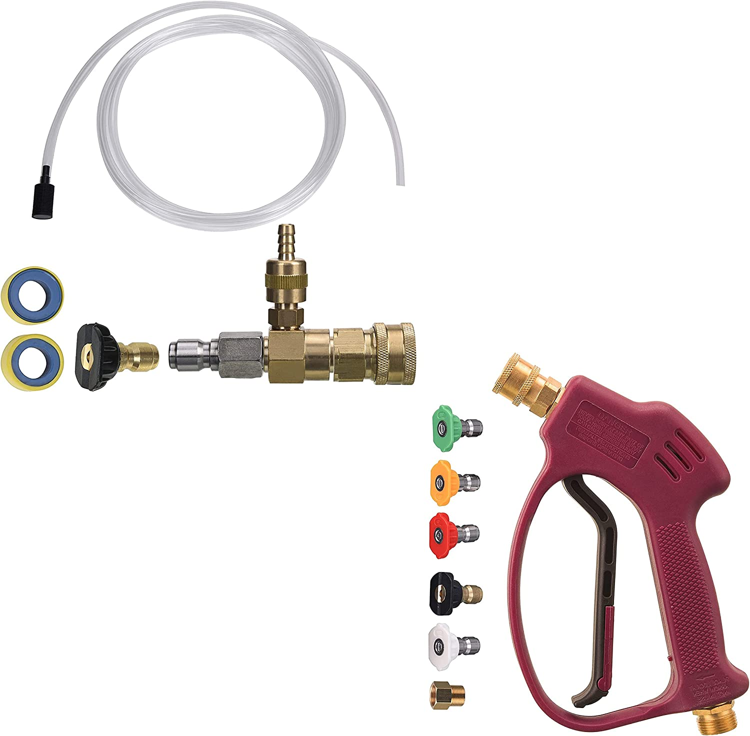 M MINGLE Adjustable Chemical Max 46% OFF Injector for shipfree Washer Pressure S Kit