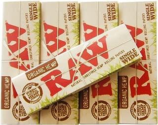 RAW(ロー) オーガニックヘンプ シングル ペーパー 50枚入り ×5個セット 手巻きタバコ 喫煙具