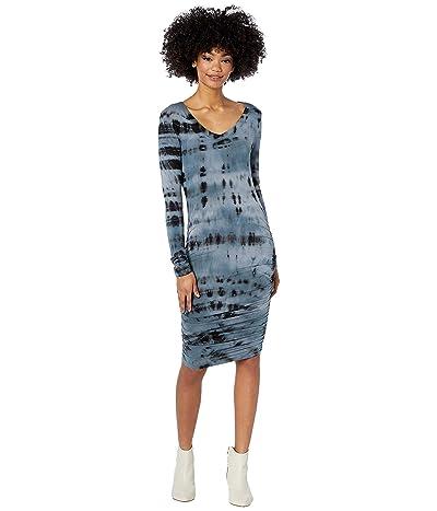 Hard Tail Side Shirred Dress