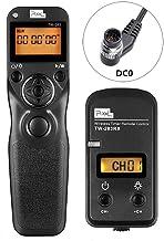 Pixel FSK 2.4GHz TW283-DC0 Mando a Distancia Digitales con Temporizador Inalámbrico para Nikon D40s D800E D810A D3X D3 D3s D4 D5 D800 D810 D700 D500 D300 D200 N90s F5 F6 F100 F90 F90X