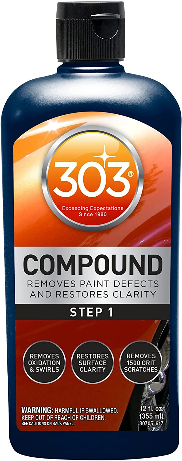303 Compound - Removes Excellence Paint and Clarity Restores Gifts Defects Remo