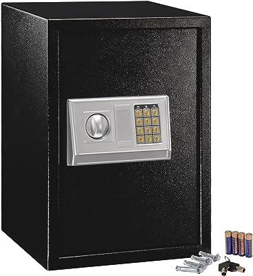 Goplus HW48025 1.8 Cubic Feet Digital Electronic Safe Box Keypad Lock