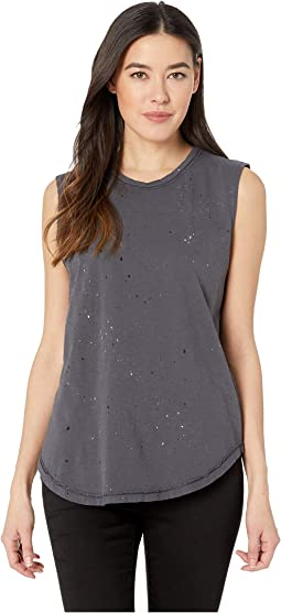 Paint Splatter Inside Out Sleeveless Tee