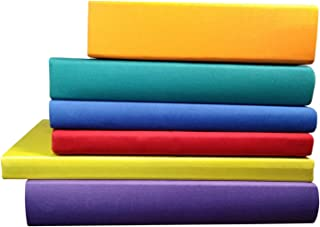 """Book Covers for Textbooks Stretchable Hardcover 2020 Latest Version XL Jumbo Size Fabric Bookcover Socks Protector Sox Jacket Cloth Durable School 9""""x11"""" Binder Machine Washable AZO-Free BookJackets"""