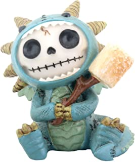 Furry Bones Scorchie Dragon Statue
