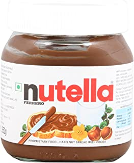 Nutella Ferrero Spread - Chocolate, 350g Bottle