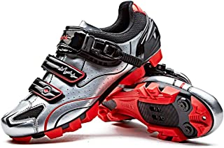 Moutntain Cycling Shoes Men MTB Bike Shoes SPD Mountain Bike Shoes with Buckle