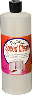 Speedball Art Products SB4573 Squeeze Bottle Speed Clean, 32-Ounce