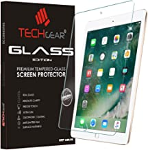 """TECHGEAR GLASS Edition for iPad 9.7"""" (2018/2017) - Genuine Tempered Glass Screen Protector Guard Cover Compatible with New Apple iPad 9.7 5th & 6th Gen - Apple Pencil Compatible"""