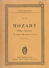 Piano concerto Eb Major for pianoforte and orchestra, K.-V.271
