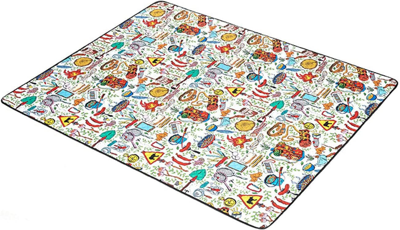 Picnic Blanket Year-end gift Rug Folding Beach Checkered Courier shipping free Mat Sand-Proof