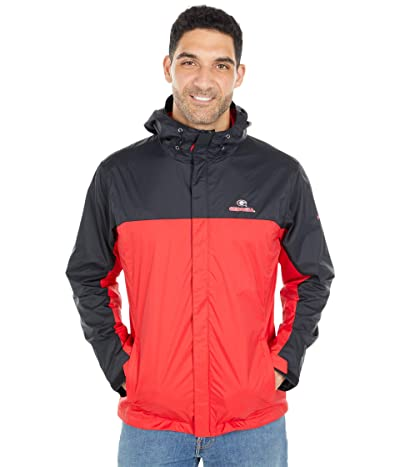 Columbia College Georgia Bulldogs Glennaker Stormtm Jacket (Black/Bright Red) Men