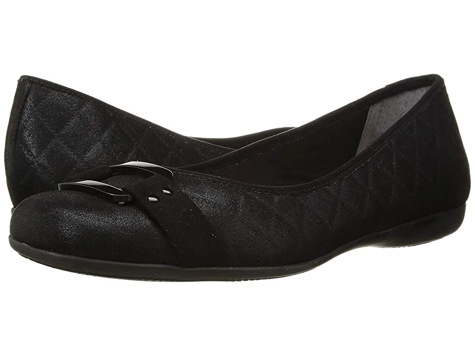 Trotters Sizzle (Black Quilted) Women