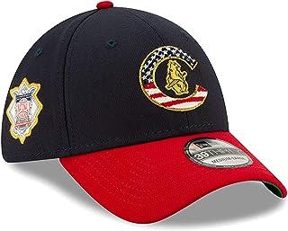 d568db21 New Era Men's Chicago Cubs Navy/Red 2019 Stars & Stripes 4th of July  39THIRTY Flex Hat