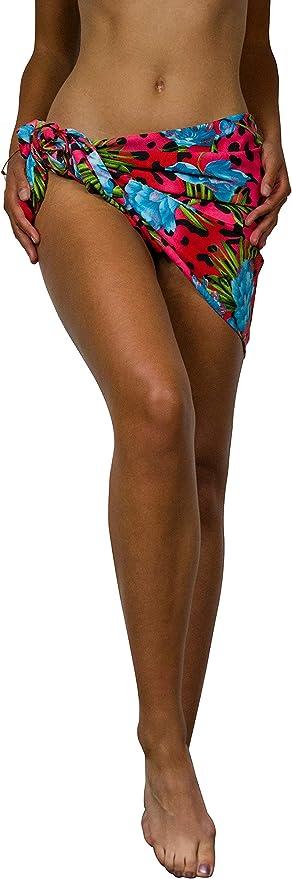 110 opinioni per King Kameha Hawaiano Sarong Pareo Avvolgere La Spiaggia Donna Casuale Bikini