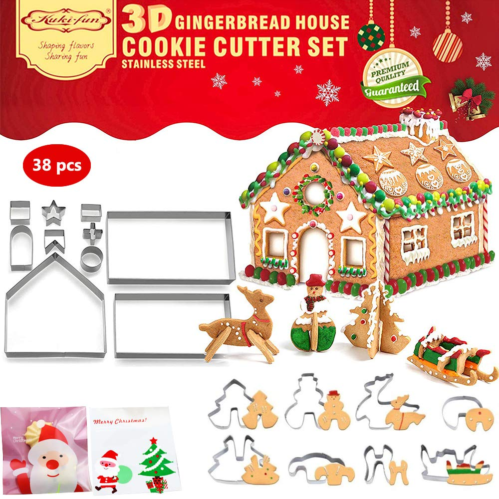 Christmas Cutters Gingerbread Reindeer Stainless