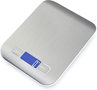 G.Runner Food Scale, 11lb Digital Kitchen Scales Weight Ounces and Grams for Cooking and Baking, 6 Units with Tare Functio...
