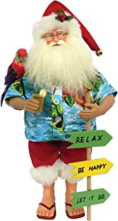 Santa's Workshop 8637 Buffet Beach Claus Figurine, 15
