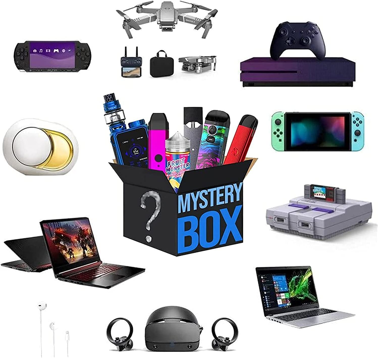 Mysterious Box Electronic Surprise Mystery Super Special SALE held Ranking TOP18 Lucky Blind