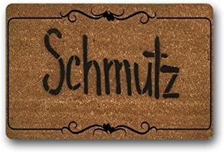 WYFKYMXX Schmutz Hanukkah Dad Gift Boyfriend Thin Lettering Welcome Sale Funny Rude Damn Good Doormat Housewarming Hostess...