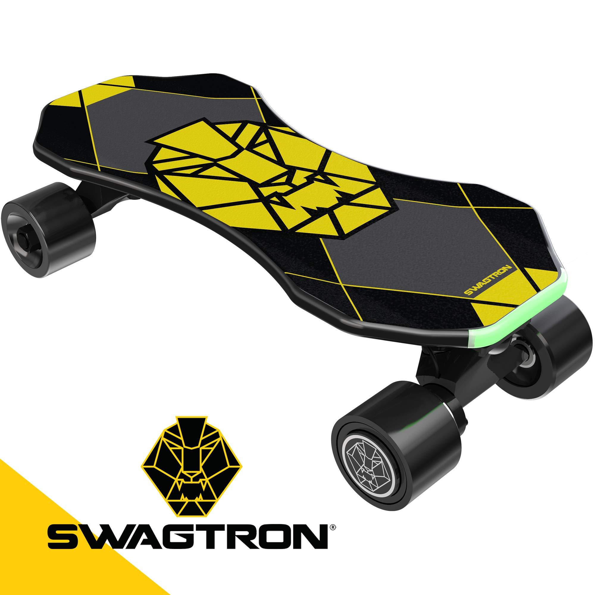 Swagtron Swagskate Skateboard Kick Assist Move More