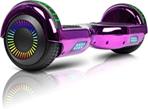 "JOLEGE Hoverboard, 6.5"" Two-Wheel Self Balancing Hoverboards - LED Light Wheel Scooter for Kids"