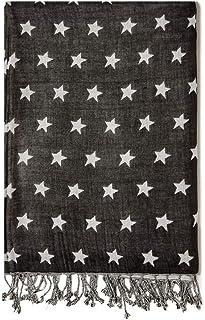 Fiorella Rubino : Sciarpa con stampa stelle Donna (Plus Size)