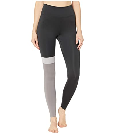 Nike One Color Block Just Do It 7/8 Tights (Black/Gunsmoke/Atmosphere Grey/Black) Women