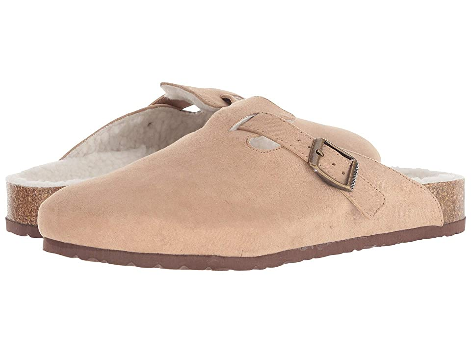 UNIONBAY Drinky (Tobacco/White Fleece) Women
