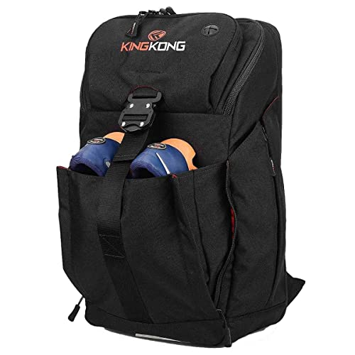 King Kong Backpack II - Military Spec Nylon Gym Backpack with Expandable Pockets and Heavy Duty