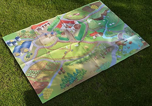 House Of Kids Large Farm Waterproof Outdoor Play Mat 140x200cm