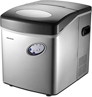 Frigidaire EFIC115 Extra Large Ice Maker, Stainless Steel, 48 lbs per day,