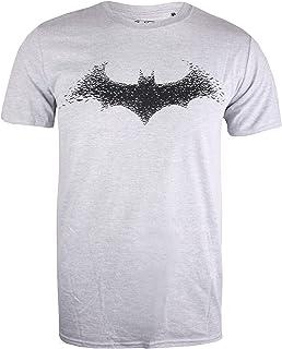 DC Comics Batman-Bat Logo Camiseta para Hombre