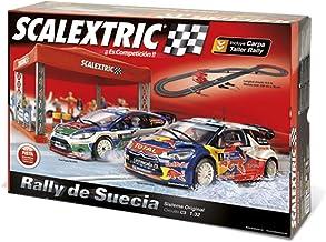 Scalextric Original - Circuito C3 Rally de Suecia con Pistas Nuevas digitalizables, Longitud 6,5m (A10096S500)